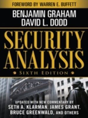 (ebook) Security Analysis: Sixth Edition, Foreword by Warren Buffett