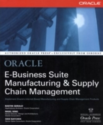 (ebook) Oracle E-Business Suite Manufacturing & Supply Chain Management