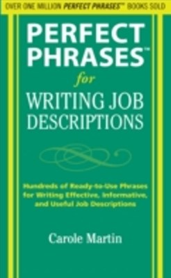 (ebook) Perfect Phrases for Writing Job Descriptions