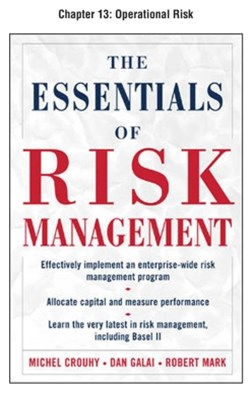 The Essentials of Risk Management, Chapter 13 - Operational Risk