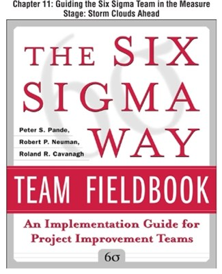 The Six Sigma Way Team Fieldbook, Chapter 11 - Guiding the Six Sigma Team in the Measure Stage Stor