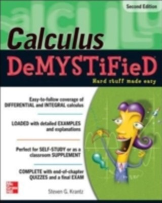 (ebook) Calculus DeMYSTiFieD, Second Edition