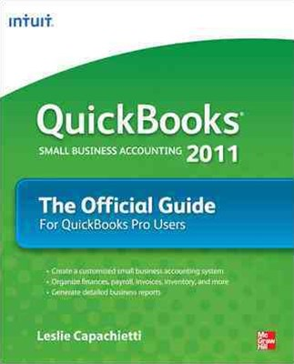 QuickBooks 2011 the Official Guide