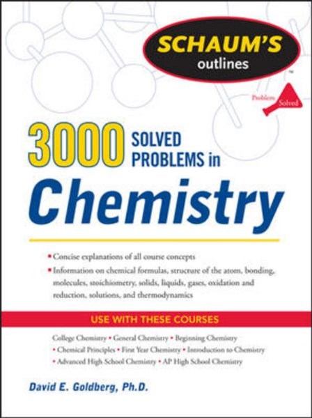 3,000 Solved Problems In Chemistry