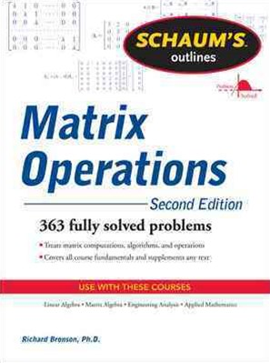 Matrix Operations