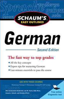 German - Schaum's Easy Outline
