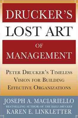 Lost Art of Management