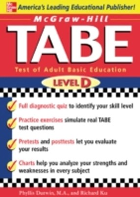 McGraw-Hill's TABE Level D: Test of Adult Basic Education