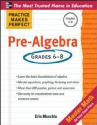(ebook) Practice Makes Perfect Pre-Algebra