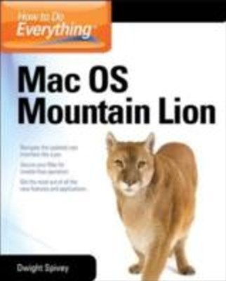 (ebook) How to Do Everything Mac OS X Mountain Lion
