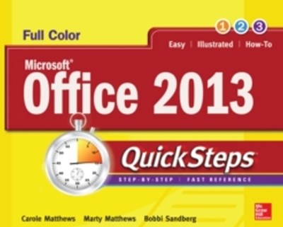Microsoft  Office 2013 QuickSteps
