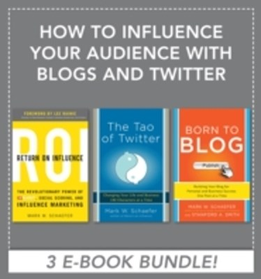 (ebook) How to Influence Your Audience with Blogs and Twitter EBOOK BUNDLE