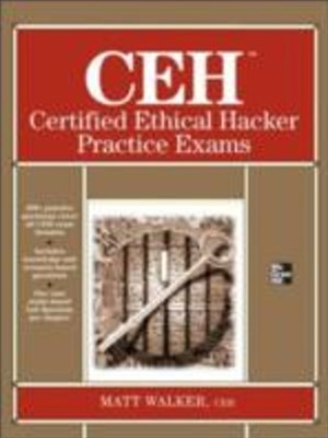 (ebook) CEH Certified Ethical Hacker Practice Exams