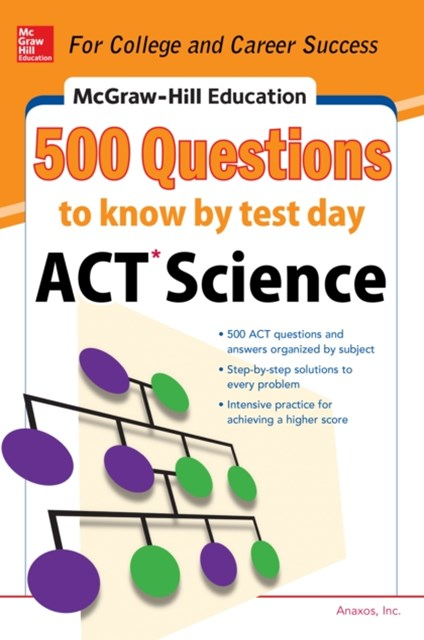 (ebook) 500 ACT Science Questions to Know by Test Day