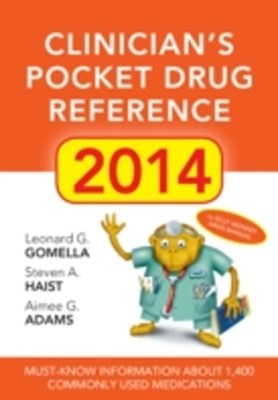Clinicians Pocket Drug Reference 2014