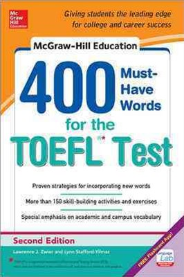 McGraw-Hill Education 400 Must-Have Words for the TOEFL