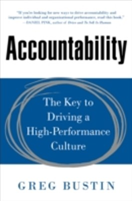 (ebook) Accountability: The Key to Driving a High-Performance Culture