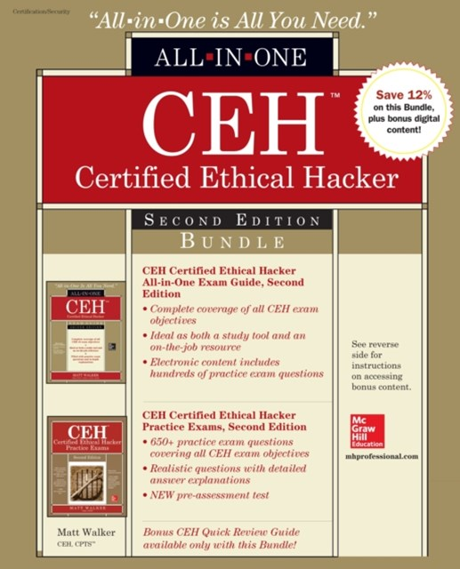 CEH Certified Ethical Hacker Bundle, Second Edition