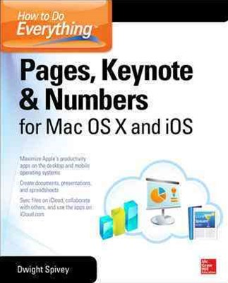 Pages, Keynote and Numbers for Mac OS X and iOS