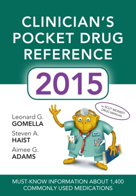 Clinicians Pocket Drug Reference 2015