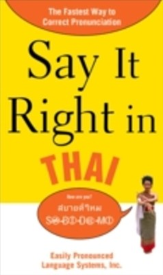 (ebook) Say It Right in Thai