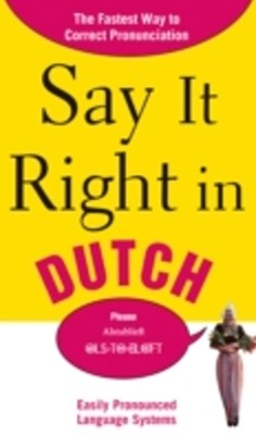 (ebook) Say It Right in Dutch