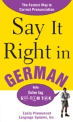 (ebook) Say It Right in German