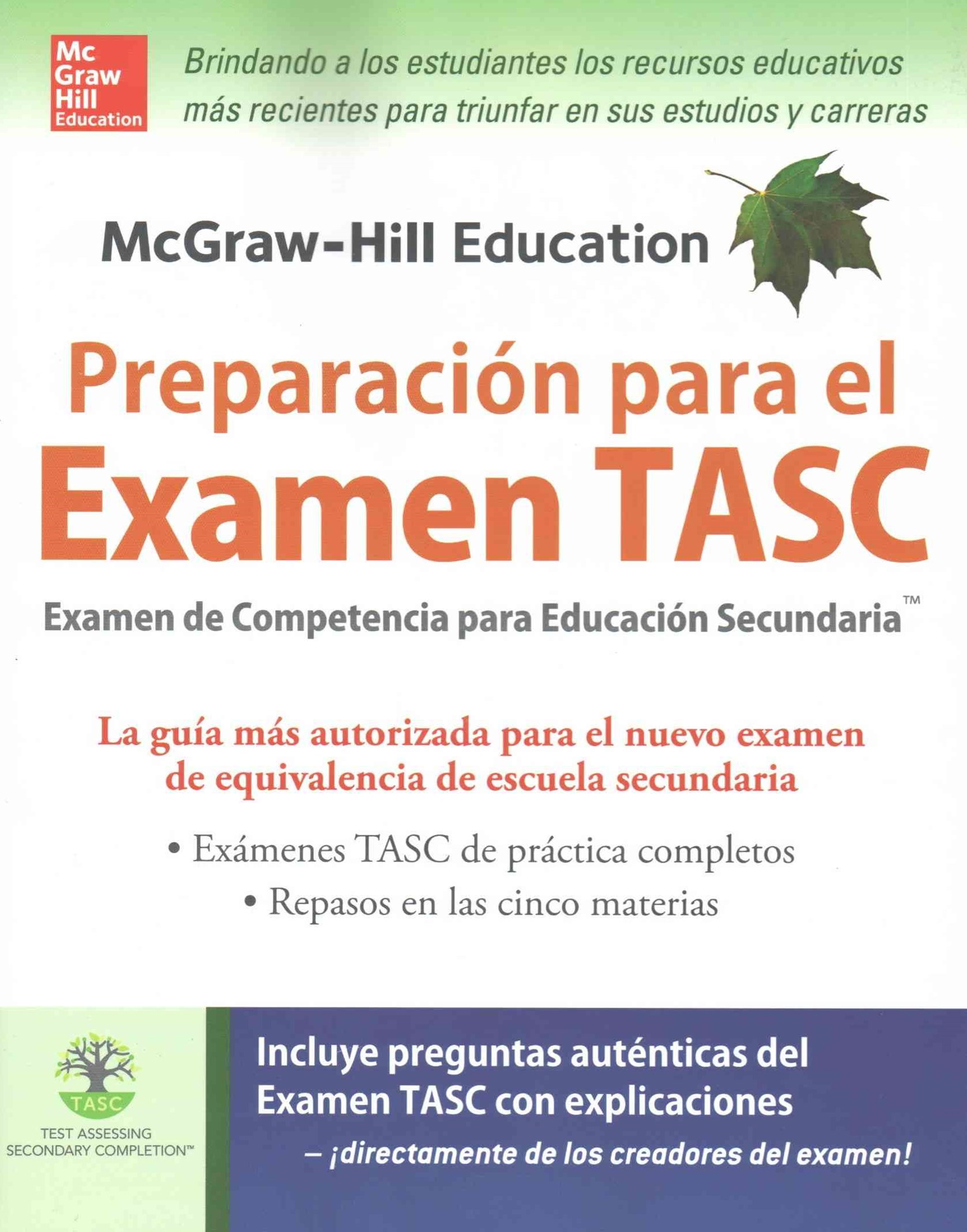 McGraw-Hill Education Preparaci+¦n para el Examen TASC