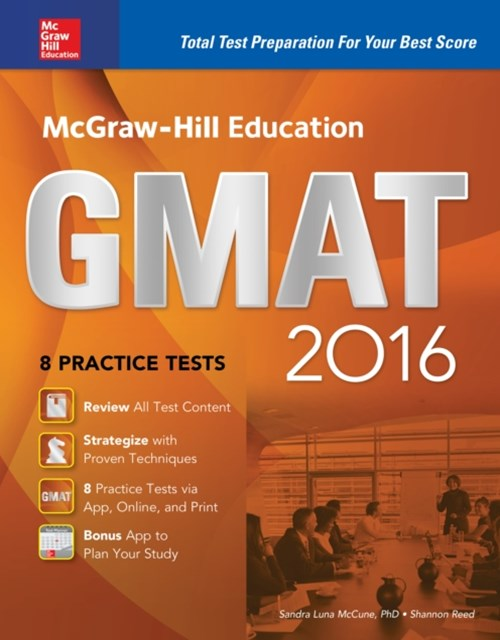 McGraw-Hill Education GMAT 2016
