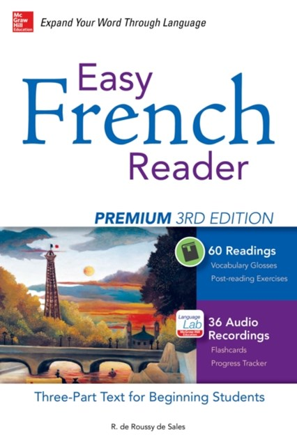 Easy French Reader Premium, Third Edition