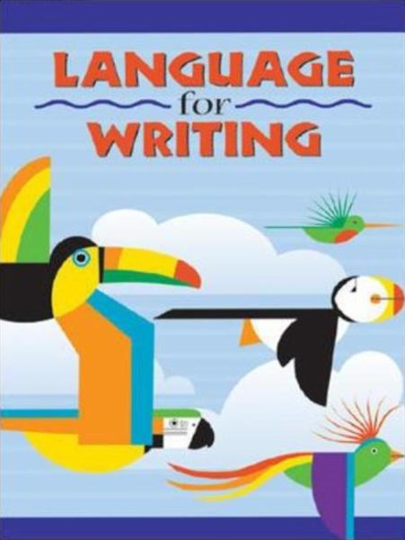 Language for Writing - Student Textbook