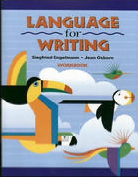Language for Writing - Student Workbook