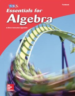 Essentials for Algebra Student Textbook