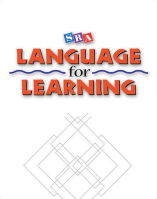 Language for Learning - Language Activity Masters