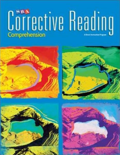 Corrective Reading Resource Book Comprehension B1