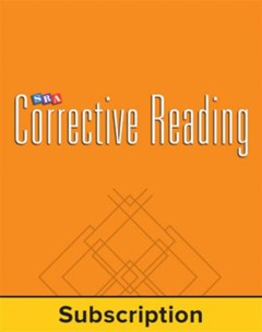 Corrective Reading Decoding a Teacher Materials