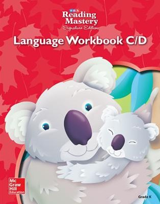 Reading Mastery - Language Workbook C and D - Grade K