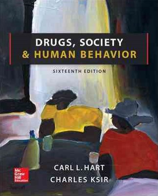 Drugs, Society and Human Behavior