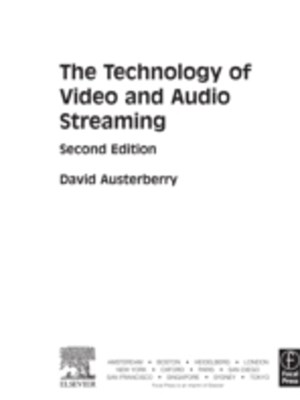 (ebook) Technology of Video and Audio Streaming