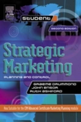Strategic Marketing: Planning and Control
