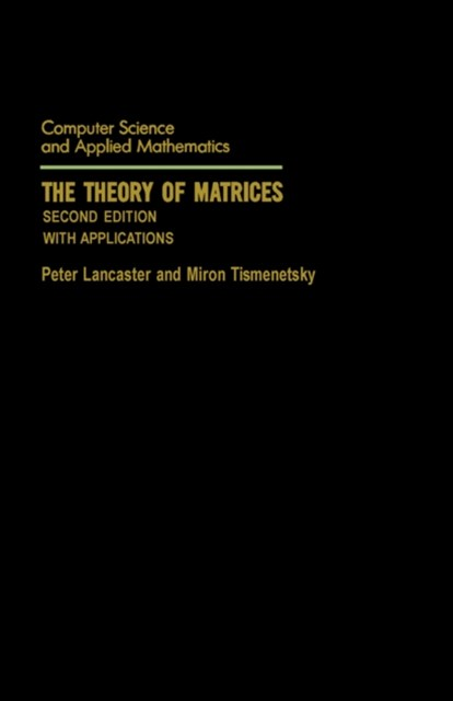 (ebook) Theory of Matrices