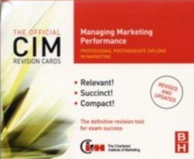CIM Revision Cards Managing Marketing Performance