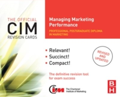 CIM Coursebook 07/08 Managing Marketing Performance