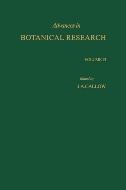 (ebook) Advances in Botanical Research