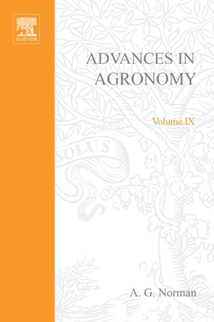 (ebook) Advances in Agronomy