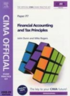 CIMA Official Exam Practice Kit  Financial Accounting and Tax Principles