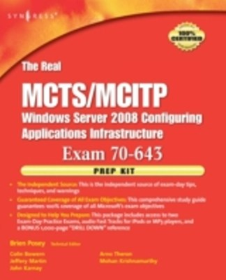 Real MCTS/MCITP Exam 70-643 Prep Kit