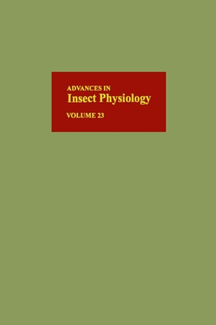 (ebook) Advances in Insect Physiology