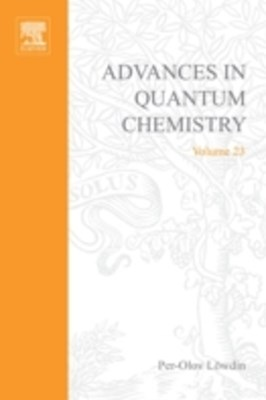 (ebook) Advances in Quantum Chemistry