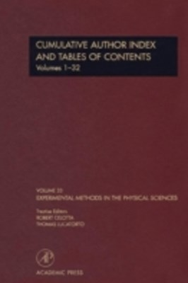 Cumulative Author Index and Tables of Contents Volumes1-32